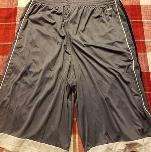 adidas Shorts - Men's Adidas Basketball Shorts Size: Lg Tall